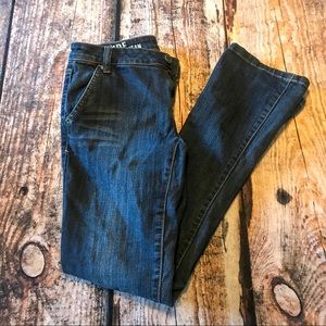 DKNY East Side Jeans Boot Cut Dark Wash